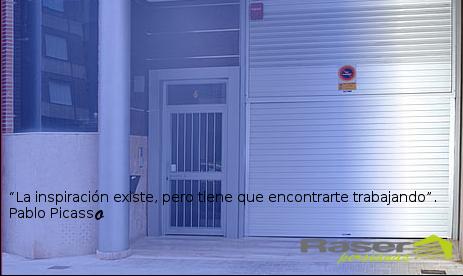 puertas de garaje - persianas raser - instalacion y montajes en valencia