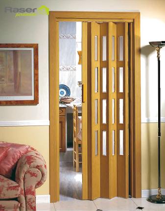 Pp persianas raser for Puertas con vidrieras decorativas