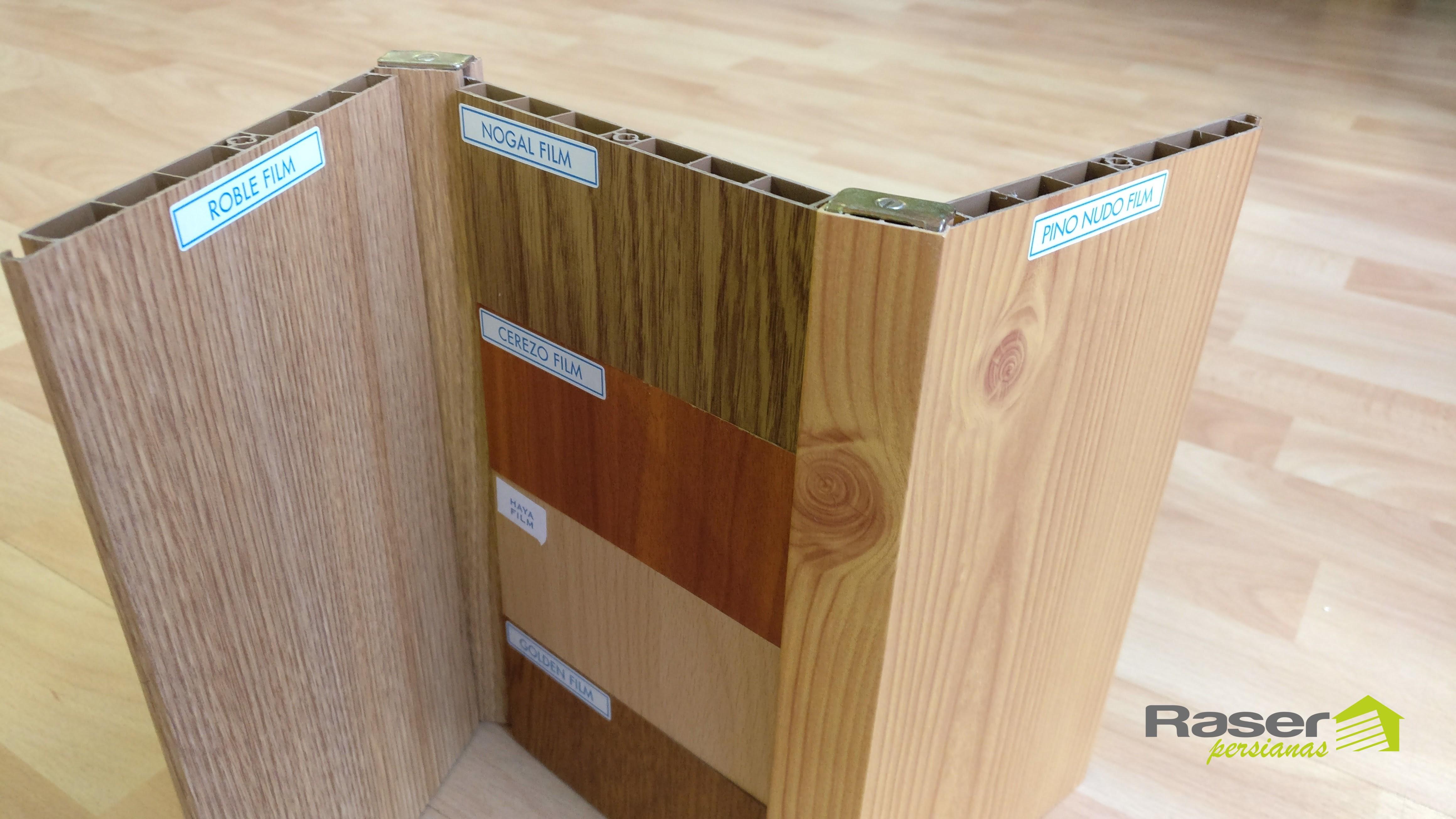 Puertas plegables puestas pvc y madera raser persianas - Puertas plegables madera ...