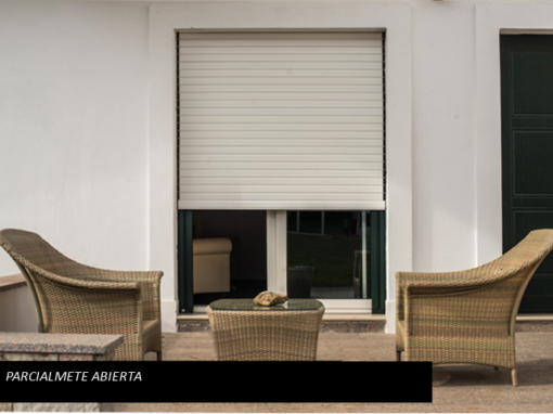 ORIENTA blind – partially open