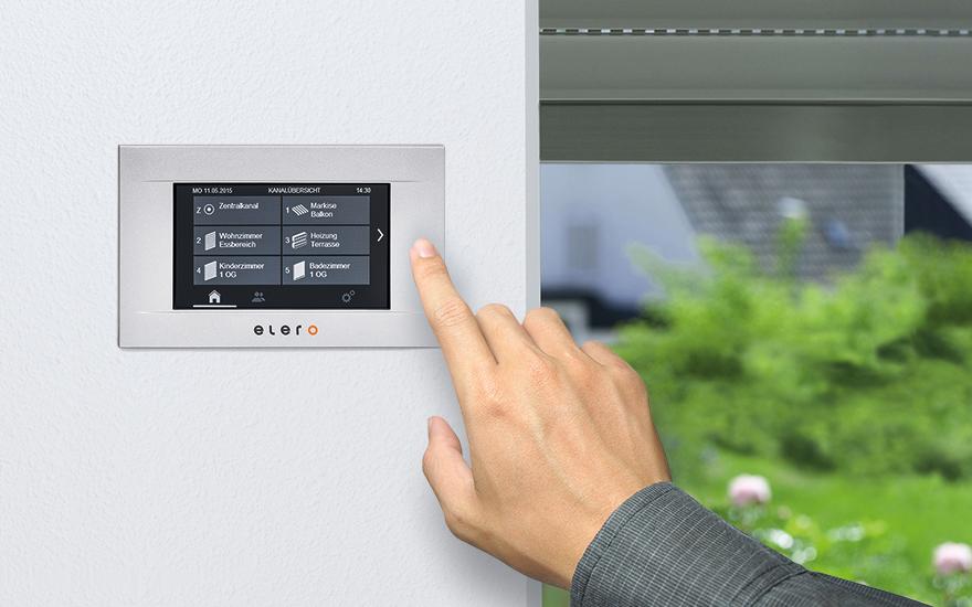 centrales de mando para su hogar, para la automatización y centralización de los motores
